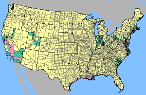 GeoHealth Newsletter Vol No Summer - Mosquito map us