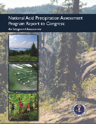 Cover of the NAPAP Report to Congress