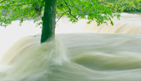 Picture of flooding on the Duck River, Tennessee